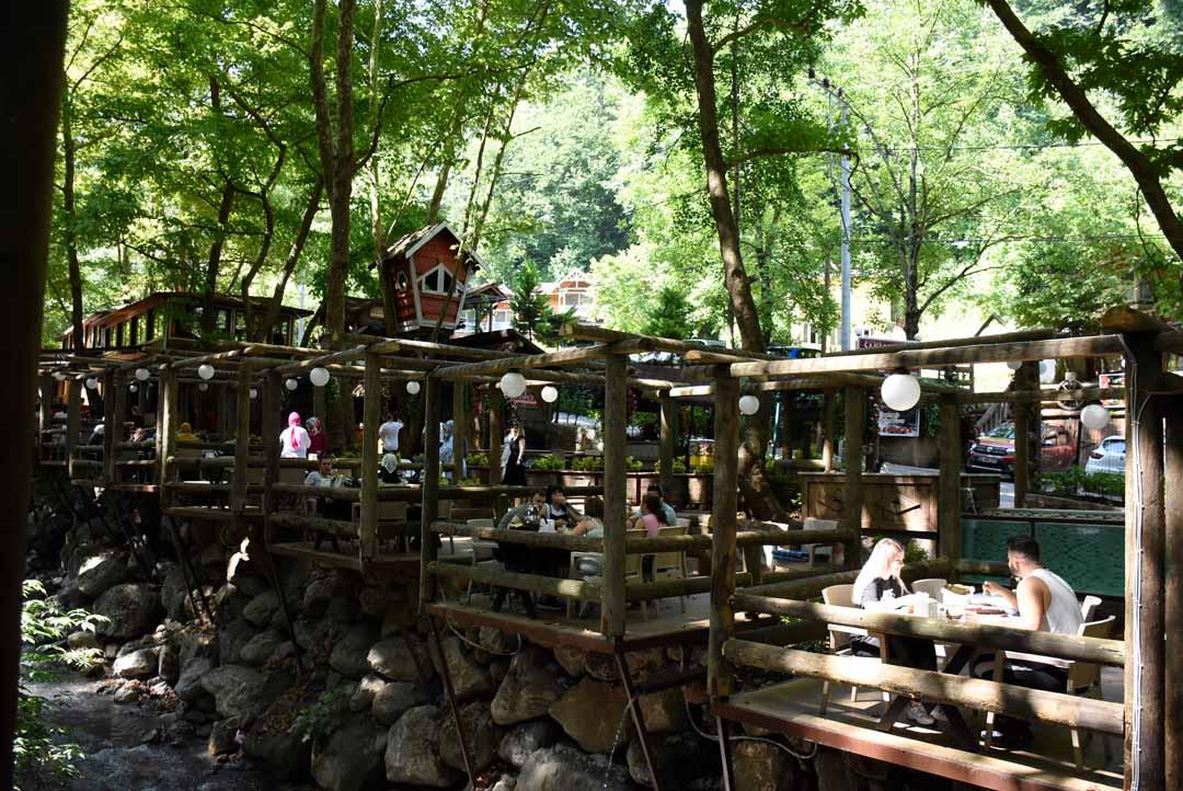 Saklı Bahçe Şelaleli Restaurant